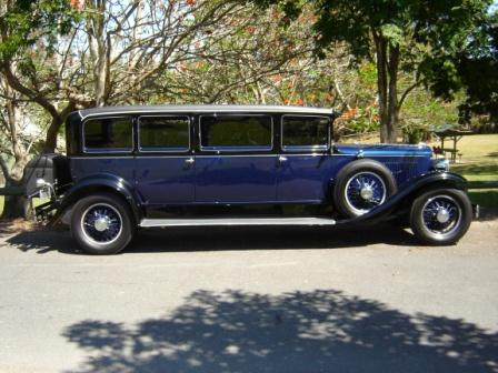 Vintage Car Hire Graham paige limo