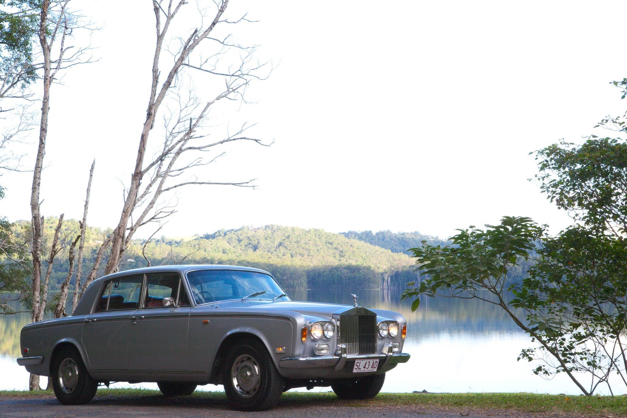 Rolls Royce in Silver Shadow Hire Car