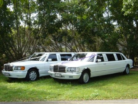 Classic Mercedes Benz Stretch Wedding Hire