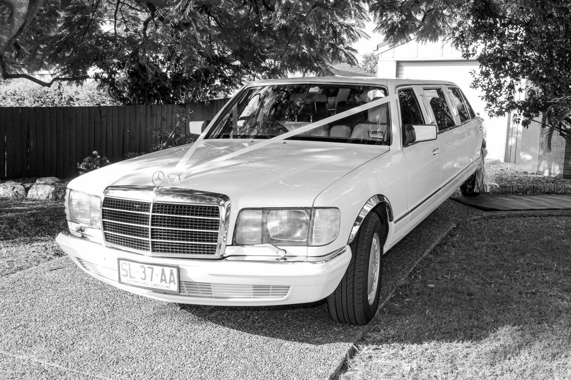 Stretch Wedding cars Classic Mercedes Benz Stretch
