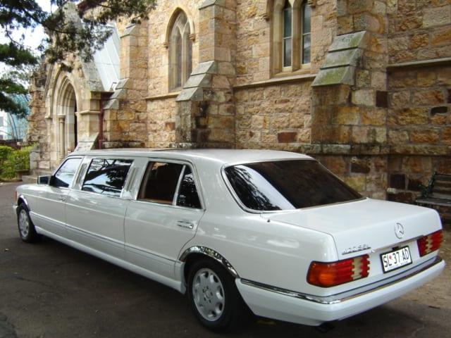 Brisbane Wedding car Hire Classic Mercedes Benz Stretch