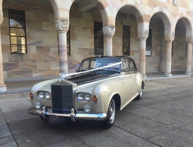 Rolls-Royce-Silver-Cloud Wedding car