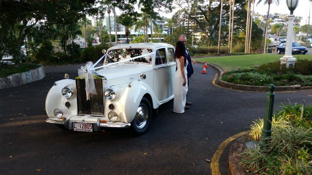 Wedding Car hire Brisbane Rolls Royce 1948 Emily