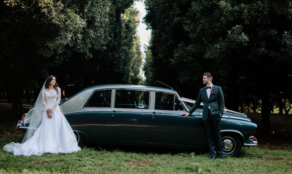 Daimler DS420 Vintage Wedding Car Brisbane