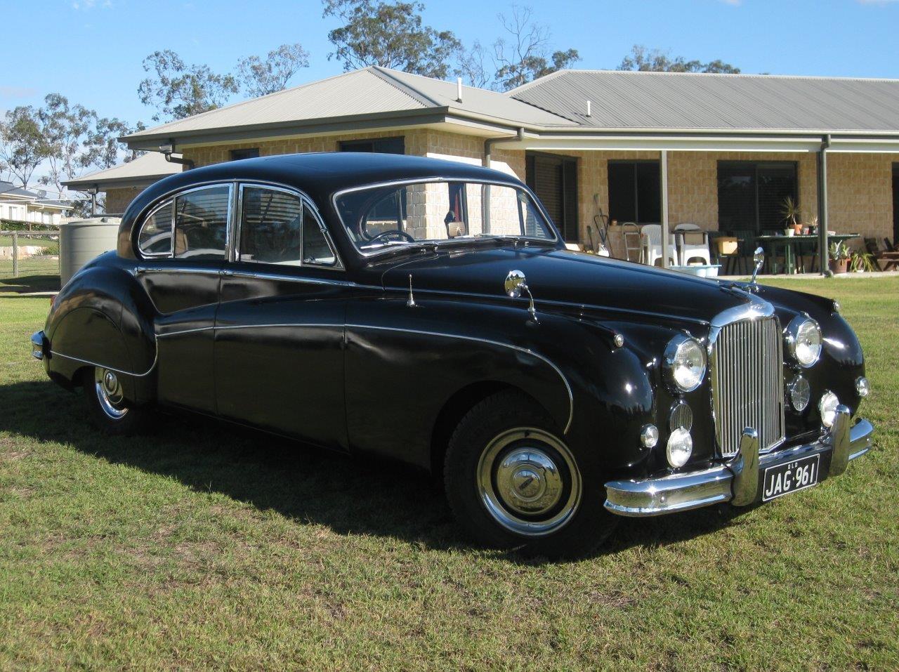 Black Jaguar wedding car Hire