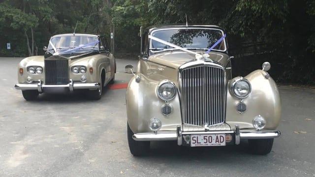 Bentley Classic Car 1950s - Wedding Car Brisbane