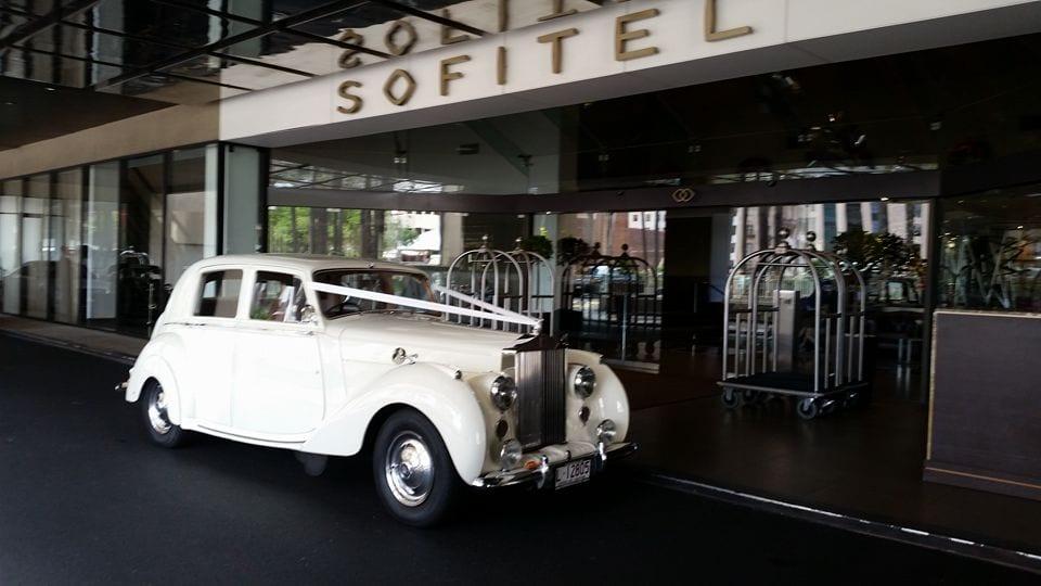 Emily Rolls Royce 1948 Wedding Car Hire Brisbane