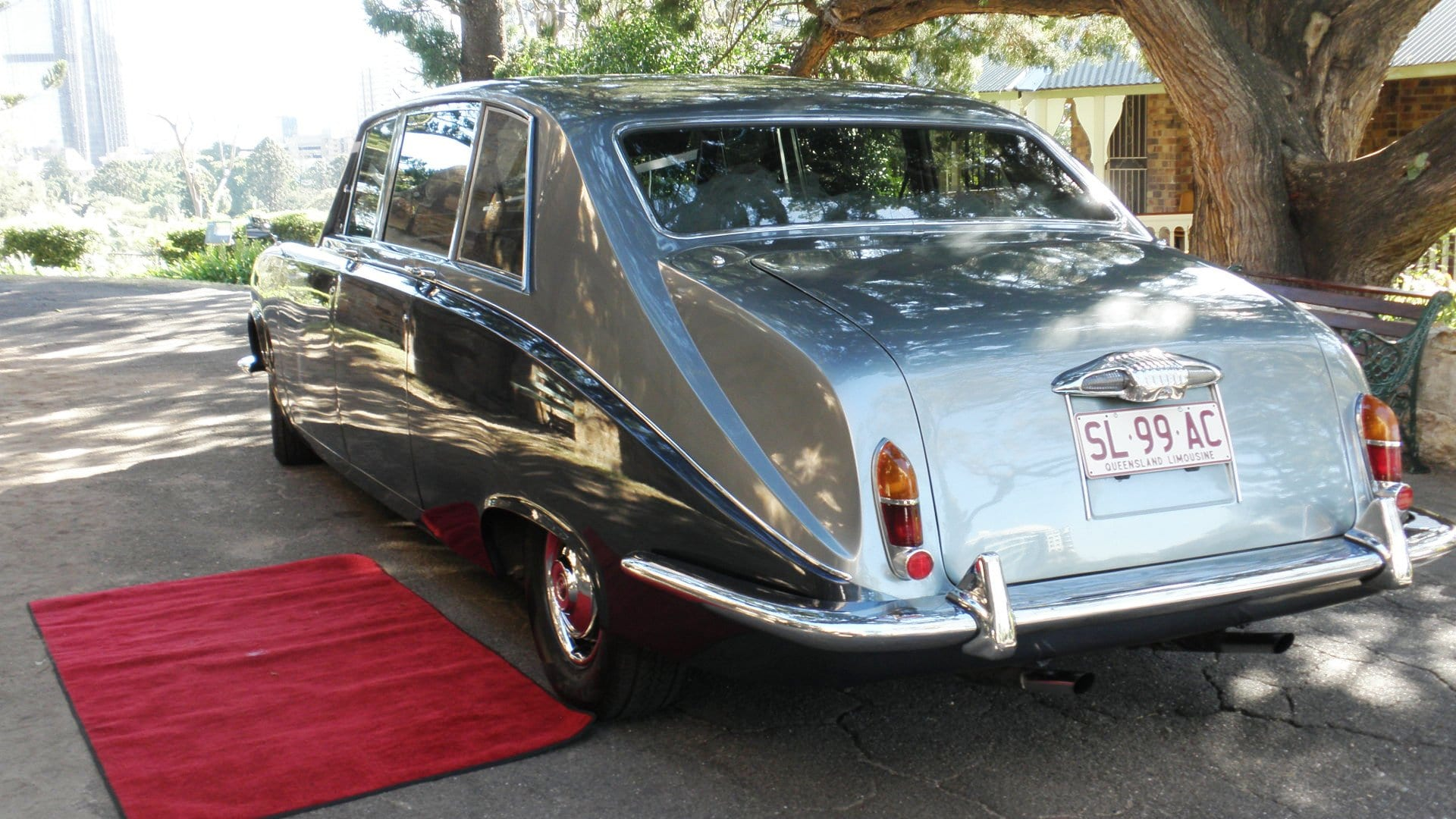 Daimler Vintage Wedding Limousine