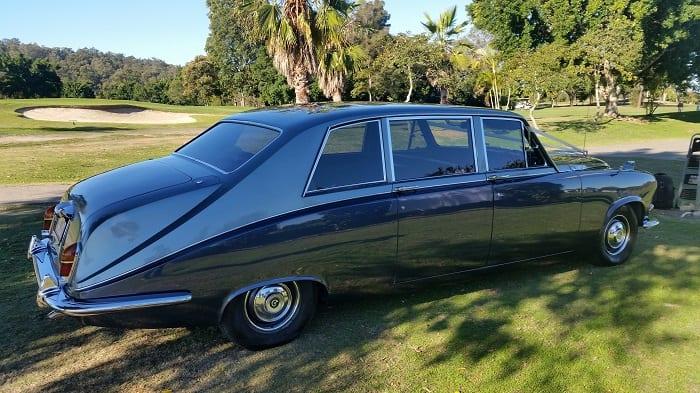 Daimler DS420 Vintage Wedding Limousine