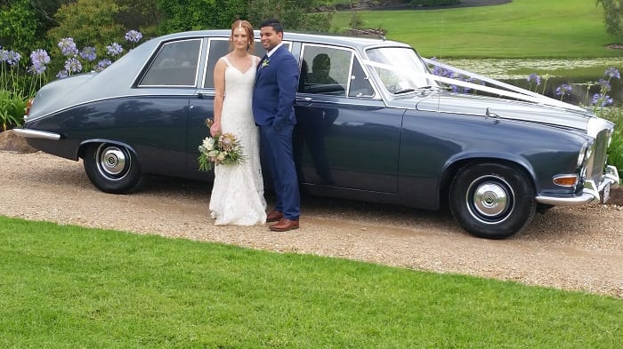 Vintage Daimler Wedding Limousine
