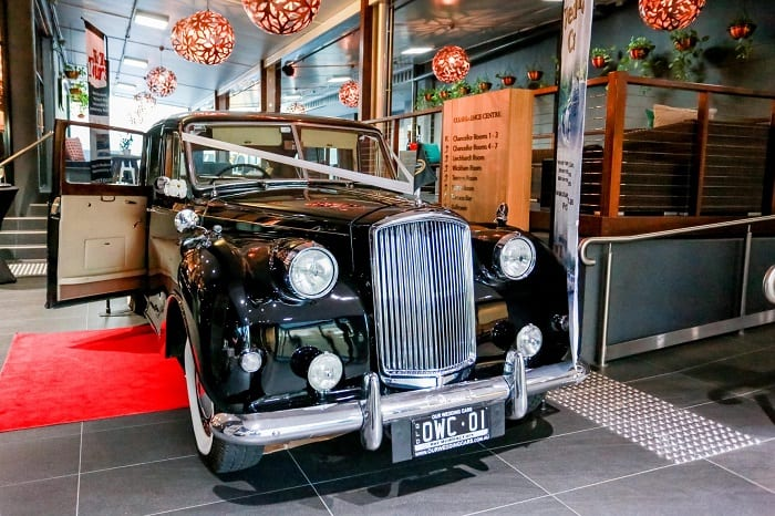 1960s Vanden Plas Wedding car hire Brisbane