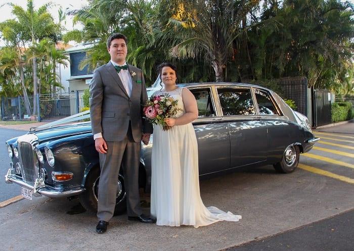 Vintage Daimler Wedding Limousine Seats from 6 Passengers + Chauffeur