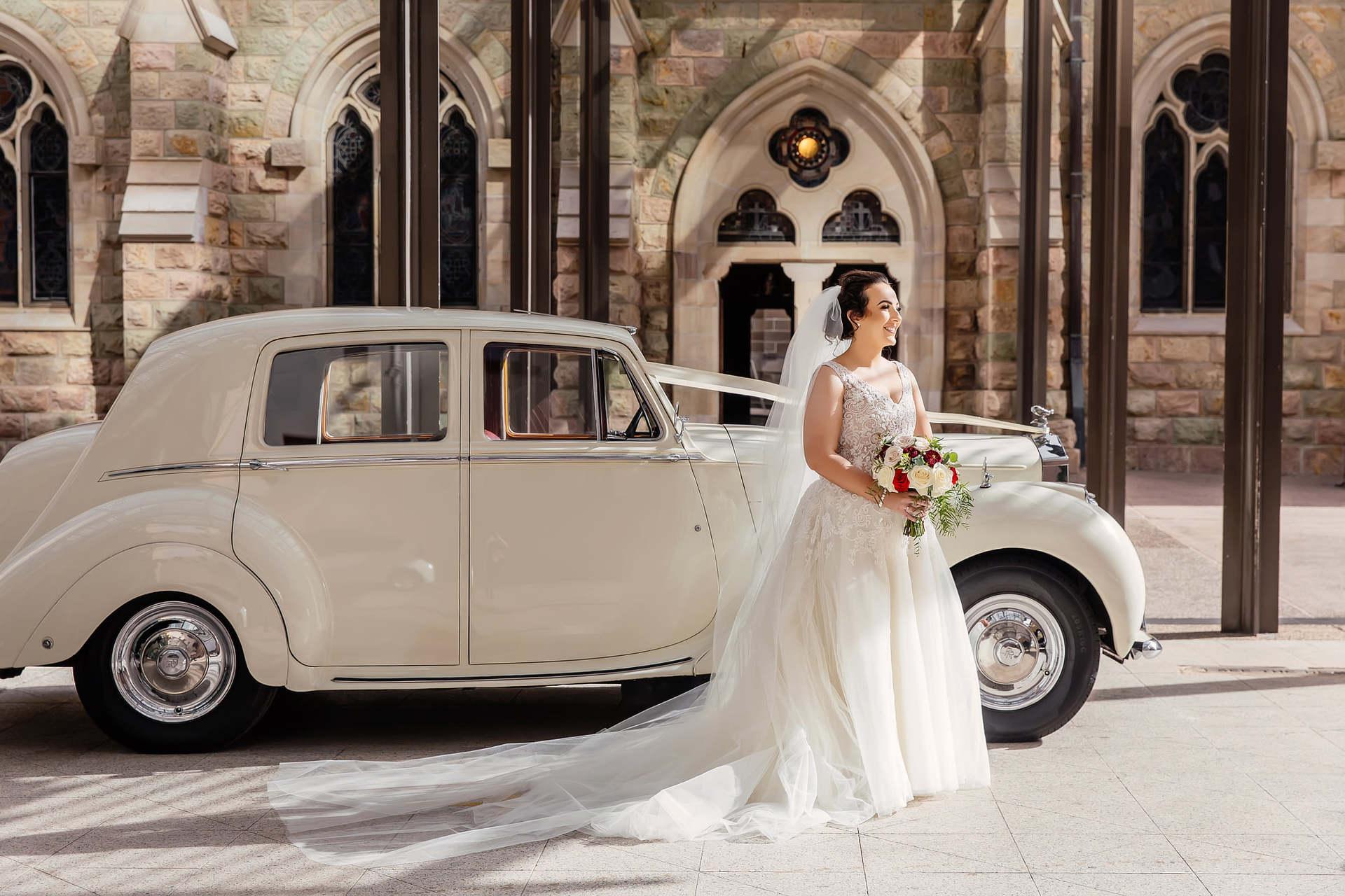 Rolls Royce Vintage Wedding Car Hire Brisbane