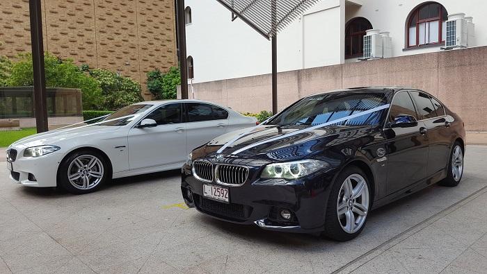 Luxury BMW Wedding Cars