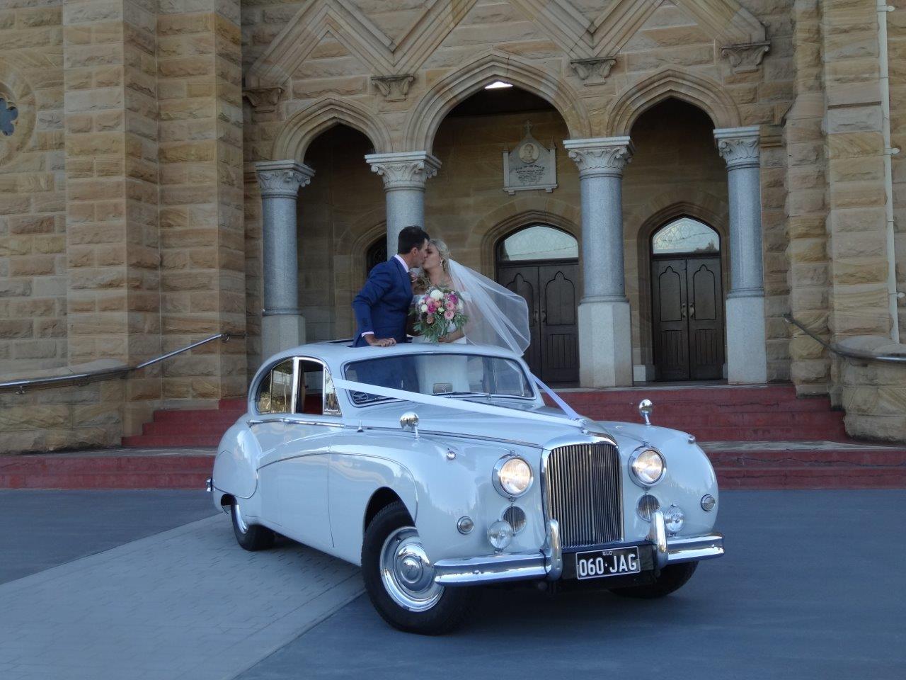 Classic Wedding Car Jag IX